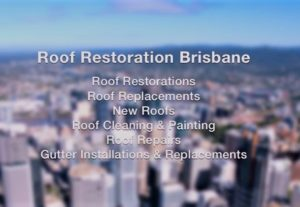 Roof Restoration Brisbane Banner