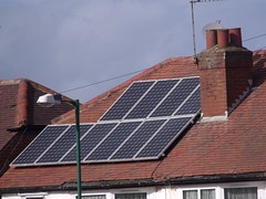roof with solar